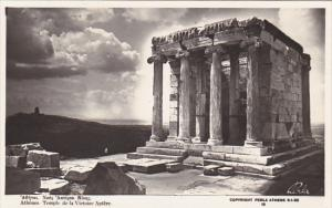 Greece Athens Temple de la Victoire Aptere Photo