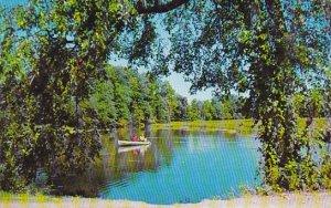 Canada A Peaceful Pond British Columbia