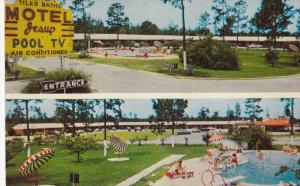 Swimming Pool, Motel Jesup, JESUP, Georgia, 40-60´