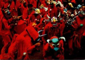 Venezuela San Francisco De Yare Los Diablos Danzantes de Yare
