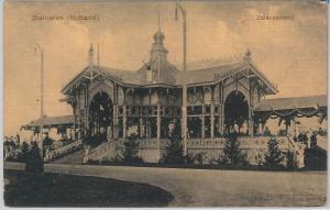 POLAND -  Vintage Postcard archiwalne pocztówki - Białowieża