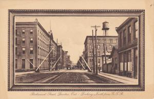 TUCK #1019, LONDON, Ontario; Richmond Street, Looking North from G. T. R., 00-10