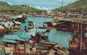 CHINA (Hong Kong) , 1950-60s ; Aberdeen Harbour