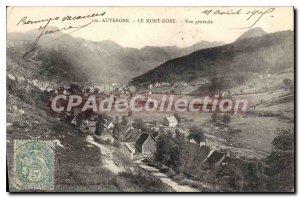 Old Postcard Le Mont Dore Vue Generale