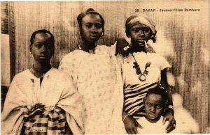 CPA AK Senegal-Dakar-Jeunes Filles Bambara (235341)