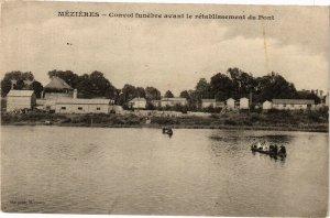 CPA MÉZIERES - Convoi funebre avant le retablissement du Pont (135368)