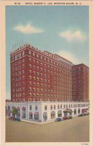 North Carolina Wintston Salem Hotel Robert E Lee
