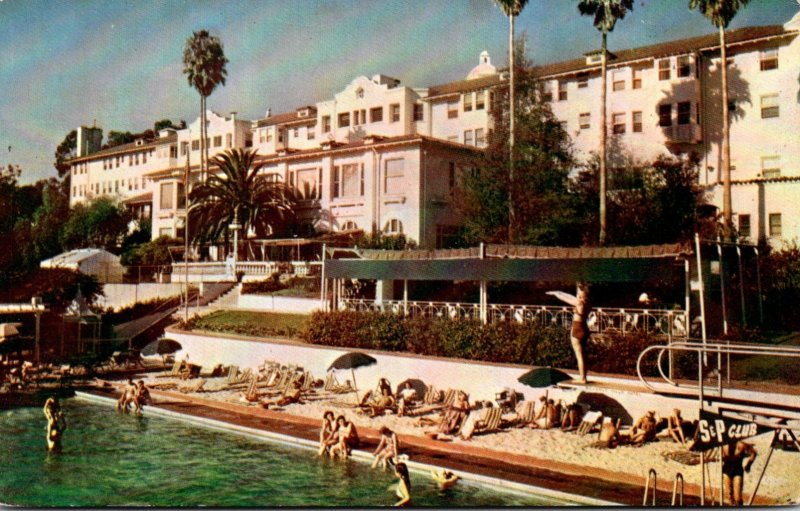 California Beverly Hills Swimming Pool At Beverly Hills Hotel