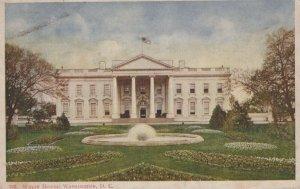 White House Washington D.C. Posted Vintage Undivided Back Post Card