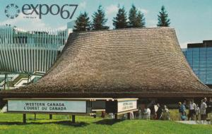 MONTREAL, Quebec, Canada 1967 Expo Pavilion of the Western Provinces