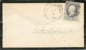 Letter Covers USA 1c for NC