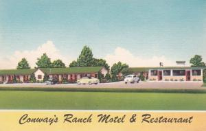 North Carolina Williamston Conway's Ranch Motel & Restaurant