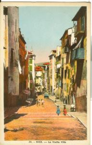 Nice, La Vieille Ville, 1940 used Postcard CPA