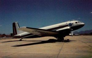 Douglas Super DC-3/C-117 At Tucson INternational Airport
