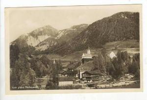 RP  Kals gegen Bretterwand, Austria, 1910s