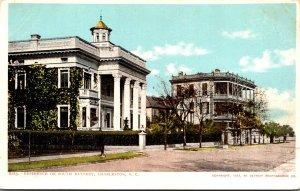 South Carolina Charleston Residence On South Battery Detroit Publishing
