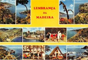 Portugal Madeira multiviews General view Beach Playa Traditional Costumes