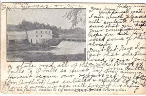 Lyon's Mill, Solsville NY