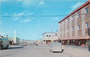 White Horse Yukon Territory~City Bus~Pinstriped Awnings~Old Van~Fourth Ave 1950s