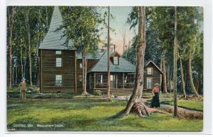 Moosehead Cabin Dexter Maine 1910c postcard