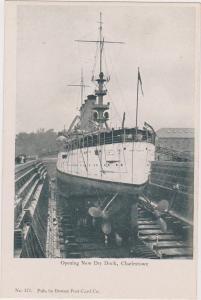 USS MARYLAND , Opening new Drydock , Charlestown , Massachusetts , 00-10s