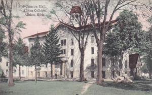 ALBION, Michigan, 1900-1910's; Robinson Hall, Albion College