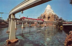Disneyland Monorail System, Anaheim, California, Postcard, Unused