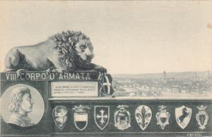 Lion , VIII Corpo D'Armata , Italy , 1890s