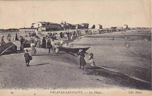 People Bathing, La Plage, Palavas-Les-Flots (Hérault), France, PU-1915
