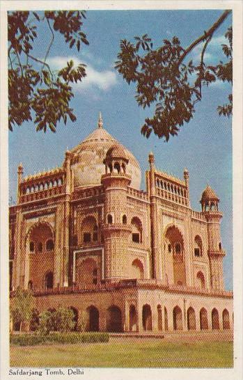 India Delhi Safdarjang Tomb