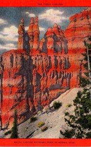 Utah Bryce Canyon The Three Goblins