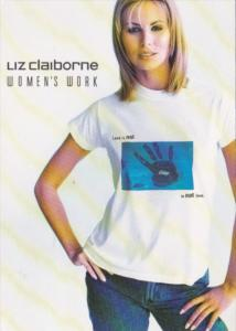 Advertising Liz Claiborne Women's Work Stop Relationship Violence
