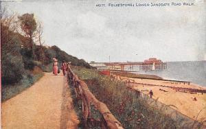 England Folkestone Lower Sandgate Road Walk