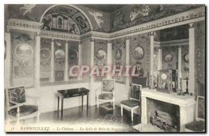 Old Postcard Rambouilet Le Chateau The Bathroom Of Napoleon 1st