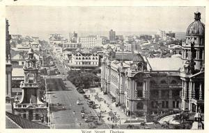 South Africa Durban West Street, panorama