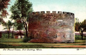 Minnesota Fort Snelling Old Round Tower 1909