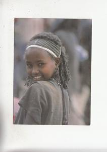 BF28365 ethiopia young girl at sanbate market  front/back image