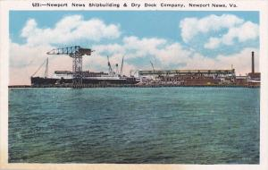 Shipbuilding & Dry Dock Company, Newport News, Virginia, 1910-20s