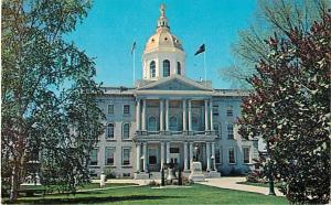 State House Concord New Hampshire NH Chrome Postcard