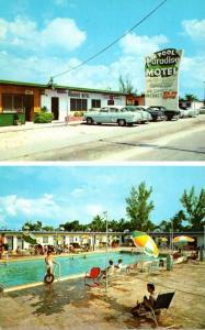 Florida Miami First Christian Church Interior Curteich