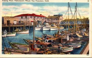 California San Francisco Hotel Whitcomb 1936 Curteich