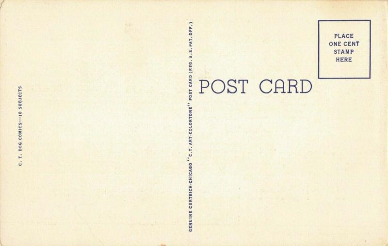 Postcard After You My Dear Alphonse
