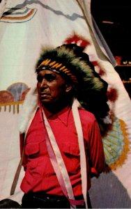 Oklahoma Cherokee Indian Chief