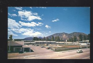FLAGSTAFF ARIZONA ROUTE 66 DEL WEBB'S HIGHWAY HOUSE MOTEL VINTAGE POSTCARD