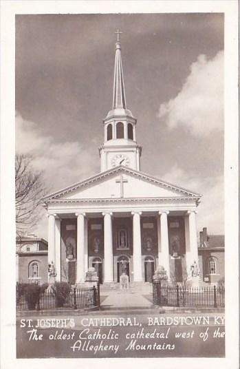The Oldest Catholic Cathedral West Of The Alleghany Mountains Saint Joseph's ...