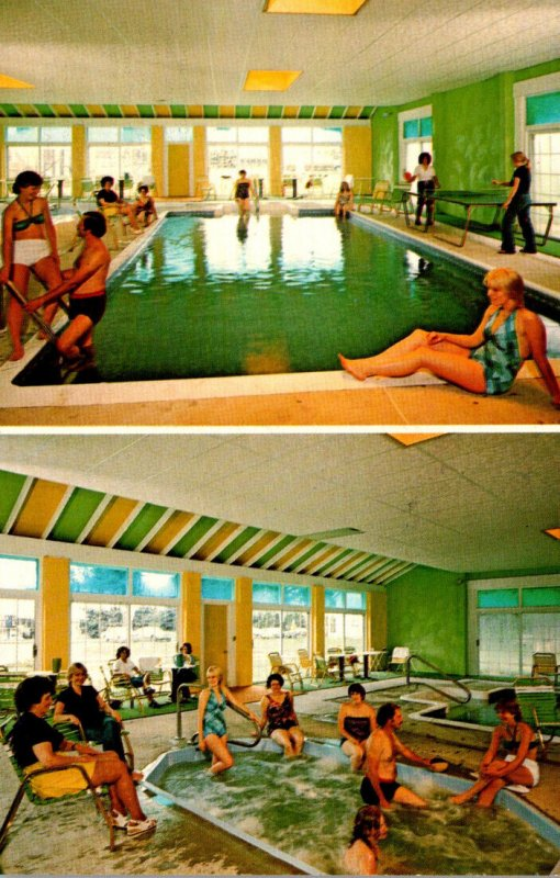 Pennsylvania Gouldsboro Kelley's Motor Coach Inn Swimming Pool