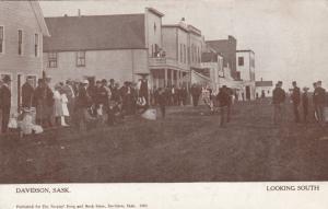 DAVIDSON , Sask., Canada, 00-10s ; Main Street , Looking South