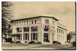 Old Postcard Caen La Grande Poste