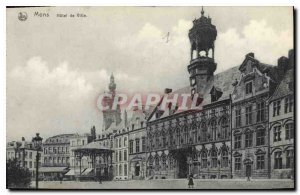 Postcard Old City of Mons holet