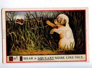 189812 KISS Lovers & PUPPY Dog Mouse Vintage ULLMAN PC